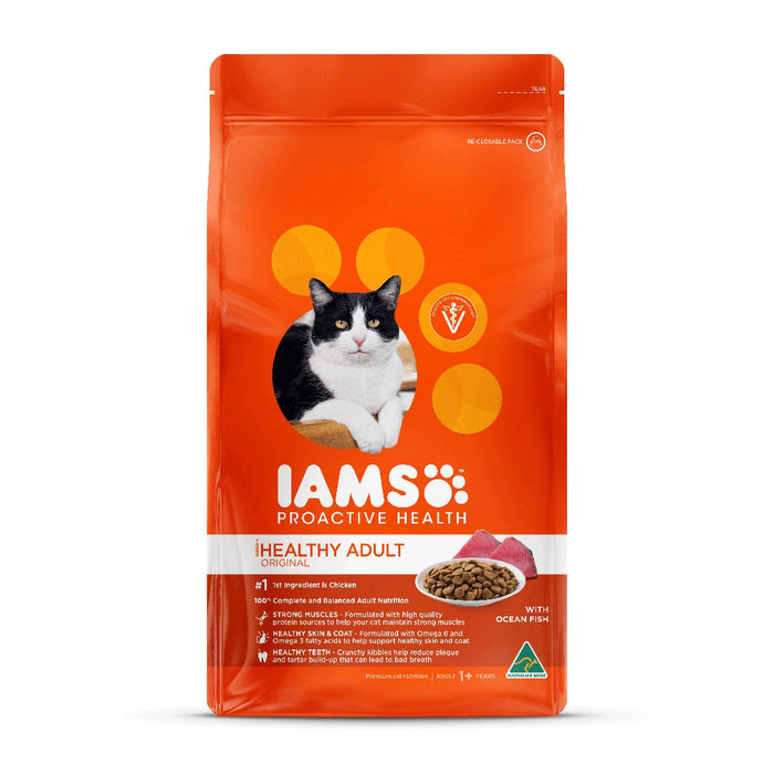 Iams Adult Cat Food with Ocean Fish