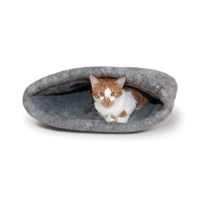 K&H Amazin' Kitty Sack - Grey