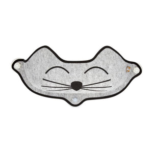 K&H Ez Kittyface Window Bed - Grey