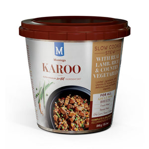 Montego Karoo Adult Dog Wet Food - Lamb