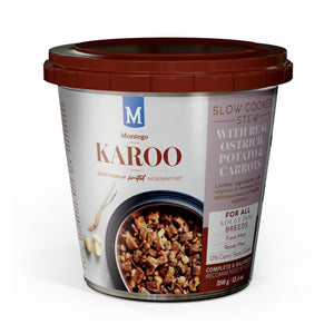 Montego Karoo Adult Dog Wet Food - Ostrich