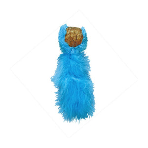 Kong Active Cat Cork Tail Toy - Turquoise