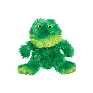 Kong Plus Dog Chew Toy- Green Frog