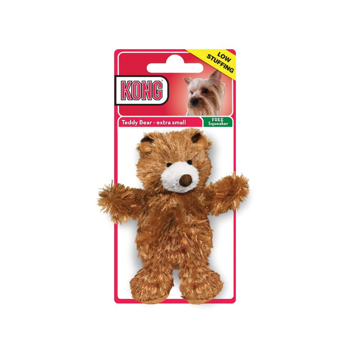 Kong Plush Brown Teddy Bear