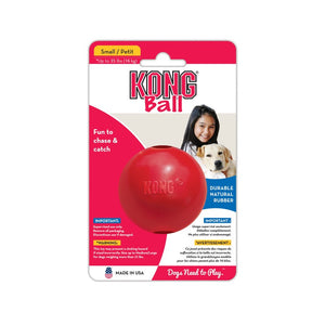 Kong Red Rubber Ball with a Hole