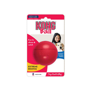 Kong Red Ball With Hole