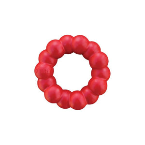 Kong Red Rubber Ring Dog Chew Toy