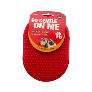 Mikki Go Gentle on Me Rubber Grooming Brush