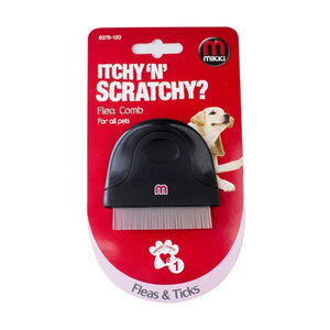 Mikki Itchy 'N' Scratchy Compact Flea Comb