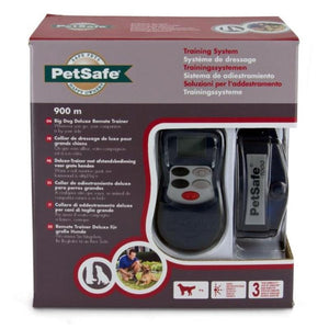 PetSafe 900m Big Dog Deluxe Remote Trainer Packaging