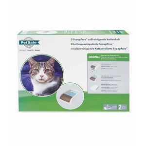 PetSafe ScoopFree Original Self-Cleaning Litter Box Packaging