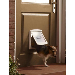 PetSafe Staywell Plastic Pet Door - Silver Grey - small