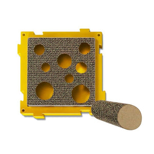 Petstages Puzzle Scratch Treat Pockets Scratcher With Post