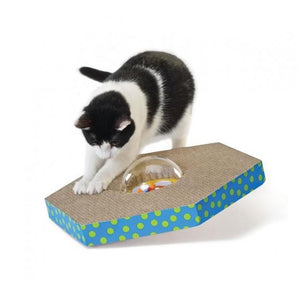 Petstages Wobble and Scratch Globe