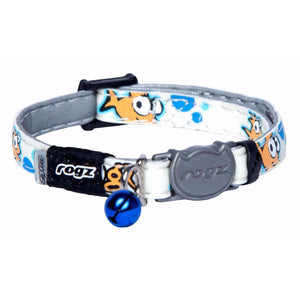 Rogz Catz GlowCat Collar - Goldie