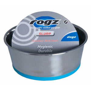 Rogz Stainless Steel Slurp Bowl