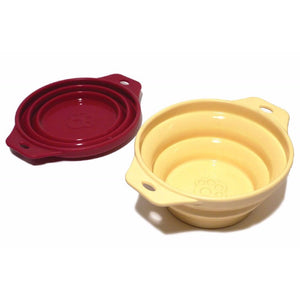 Rosewood Collapsible Travel Bowl