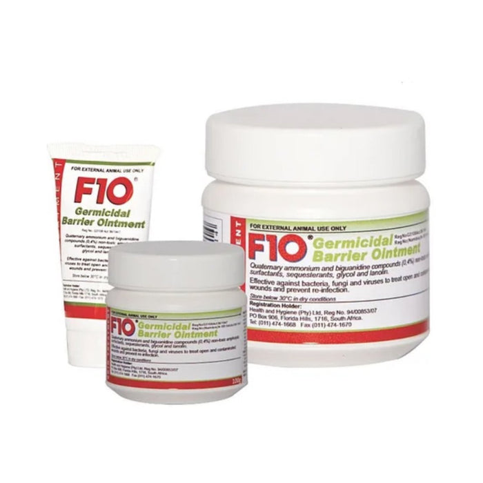 F10 Germicidal Barrier Ointment