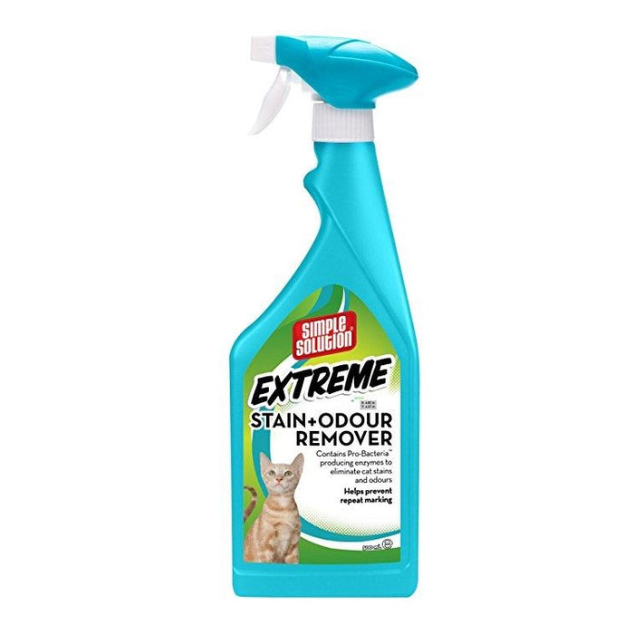 Simple Solution Extreme Stain & Odour Remover for Cats - 500ml