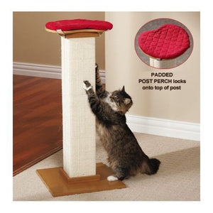 SmartCat perch for The Ultimate Cat Scratcher-Red