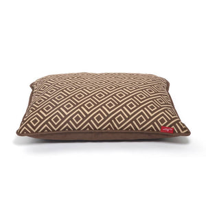 Wagworld Interior Cushion Replacement Cushion: Geo Choc