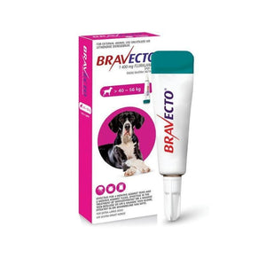 bravecto spot on for xtra large dogs 40kg-56kg