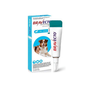 bravecto spot on for large dogs 20kg-40kg