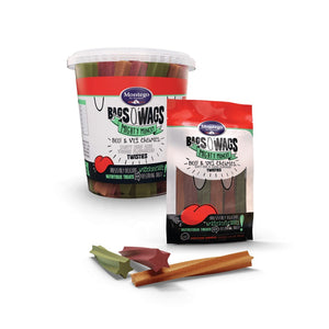 Montego Bags O' Wags Beef & Veggies Chewies