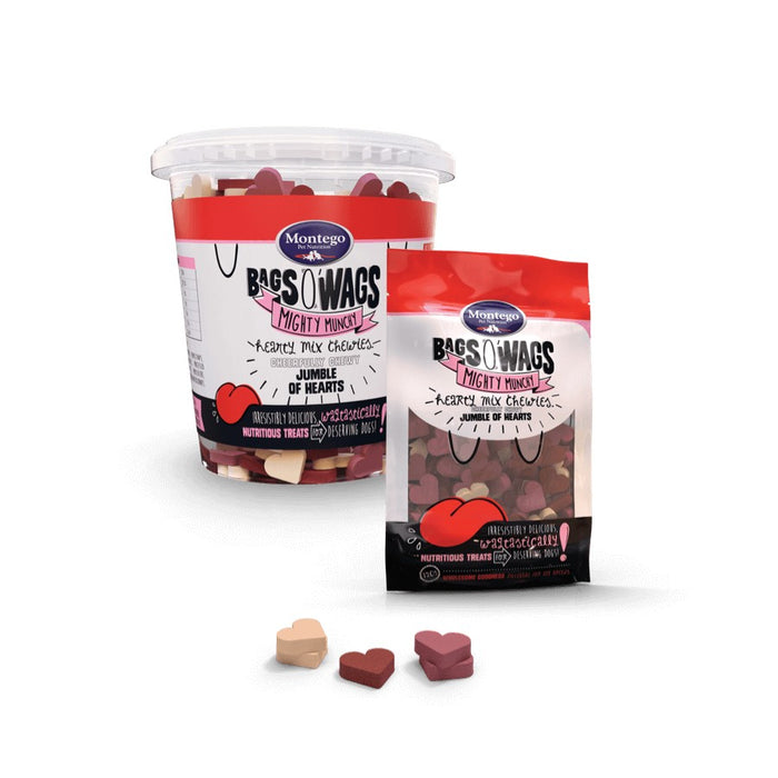 Montego Bags O' Wags Chewies - Hearty Mix