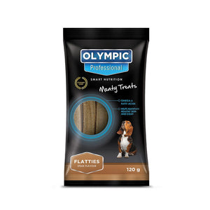 Olympic Professional Dog Treats Flatties Steak