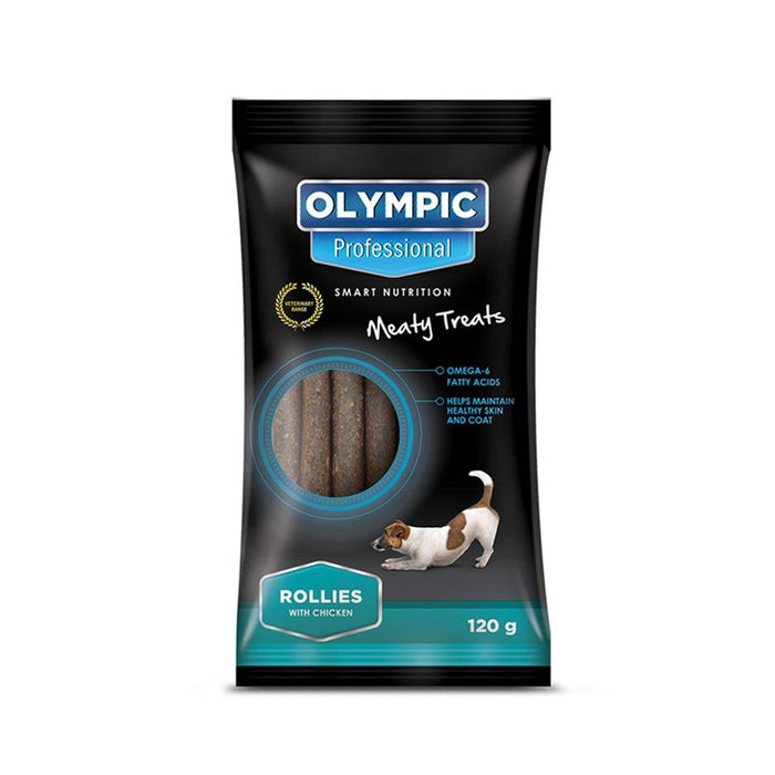 Olympic Professional Dog Treats Rollies Chicken