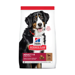 Science Plan Canine Adult Large Breed Lamb & Rice
