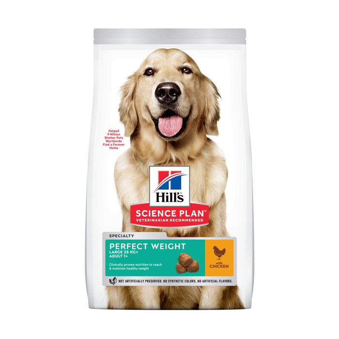 Hill's Science Plan Canine Adult Perfect Weight Large Breed Chicken Dog Food