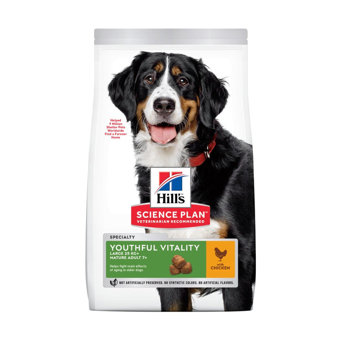 Hill's Science Plan Canine Youthful Vitality 5+ Large Breed Chicken Dog Food