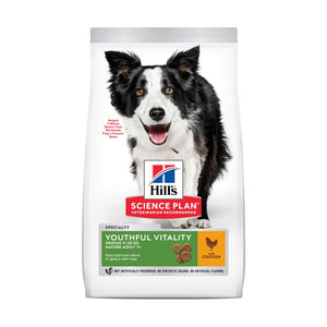 Hill's Science Plan Canine Senior Vitality 7+ Medium Chicken Dog Food