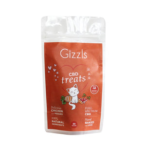 Gizzls Chicken CBD Cat Treats