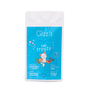 Gizzls Fish CBD Cat Treats