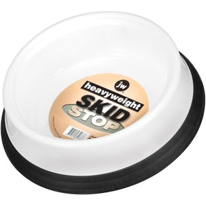 JW Heavyweight Skid Stop Bowl White