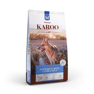 Montego Karoo Adult Dog Food Beef and Lamb 1.75kg