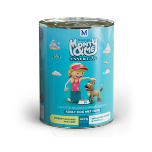 Montego Monty & Me Essential Wet Dog Food - Chicken Meatloaf