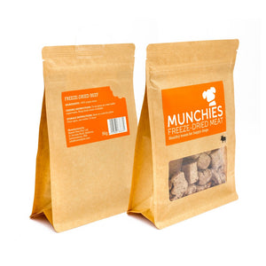Munchies Freeze Dried Meat Beef Dog Treats