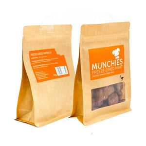 Munchies Freeze Dried Meat Ostrich Dog Treats