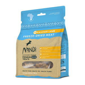 Nandi Freeze Dried Meat Kalahari Lamb Dog Treats