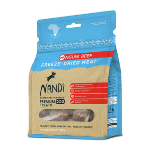 Nandi Freeze Dried Meat Nguni Beef Dog Treats