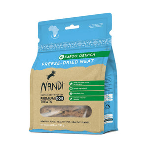 Nandi Freeze Dried Meat Karoo Ostrich
