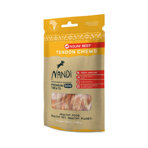 Nandi Tendon Chews Nguni Beef Dog Treats