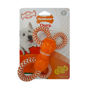 Nylabone DuraToy Play Rope Quad Small