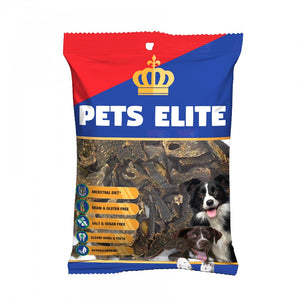 Pets Elite Liver Biltong Treats - Bite Size