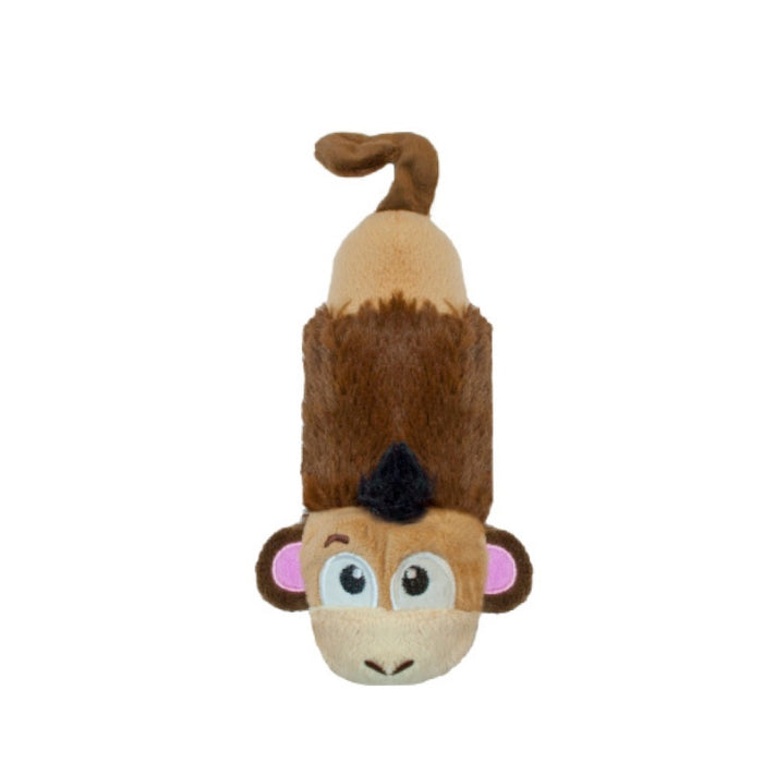 Petstages Stuffing Free Lil' Squeak Monkey