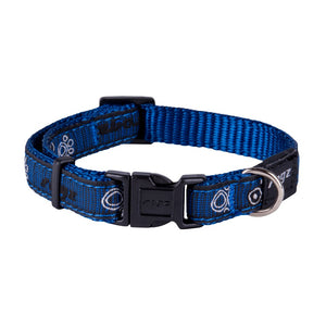 Rogz Fancy Dress Small Jellybean Dog Collar Navy